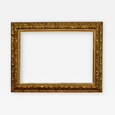 Italian 19th Century Carved Picture Frame 26x36