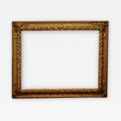 Italian 19th Century Hand Carved Picture Frame 40x53