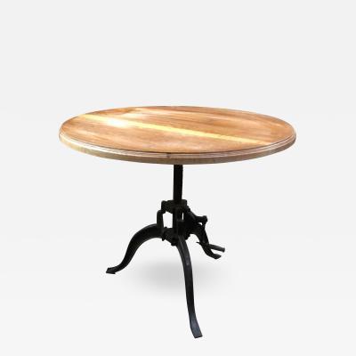 Italian 40s Adjustable Industrial Table
