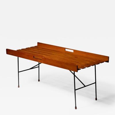 Italian 60s Wood Bench