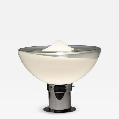 Italian 70s Murano Glass Table Lamp