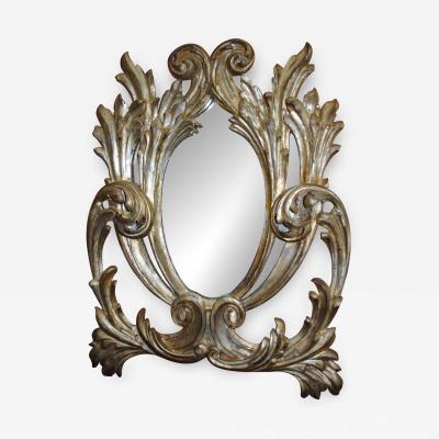 Italian Acanthus Baroque Mirror
