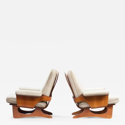 Italian Armchairs Set of Two