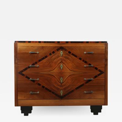 Italian Art Deco Chest of Drawers c1930