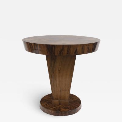Italian Art Deco Circular Side Table
