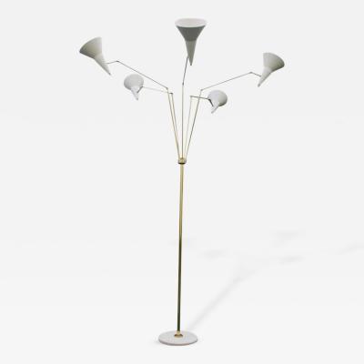 Italian Articulating Floor Lamp