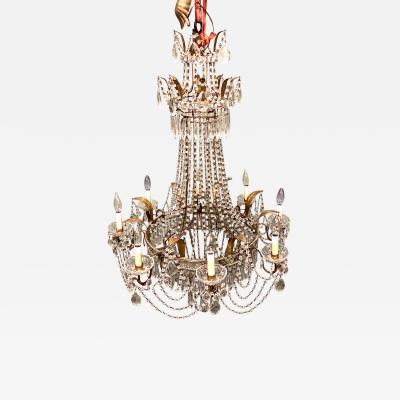 Italian Baltic Style Beaded Chandelier