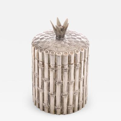Italian Bamboo Ice Bucket
