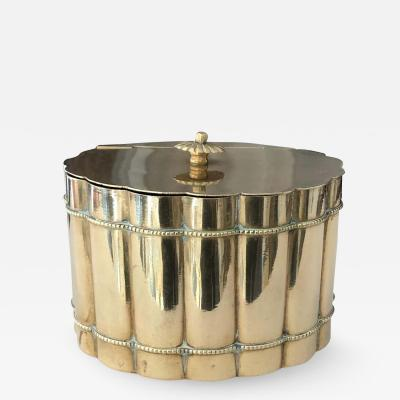 Italian Brass Decorative Box