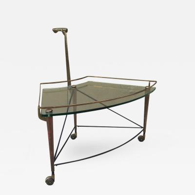 Italian Bronze Bar Cart