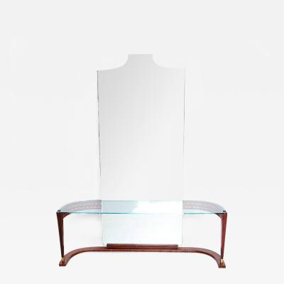 Italian Console Table with Mirror