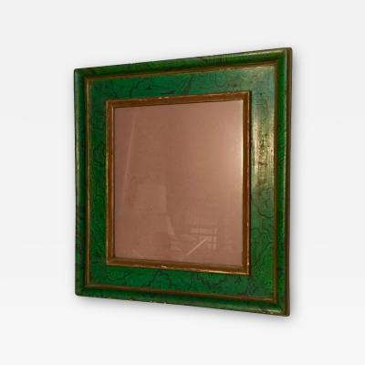 Italian Faux Malachite Mirror