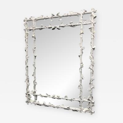 Italian Floral Compost Mirror