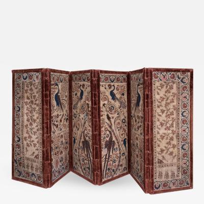 Italian Hand Woven Linen Screen