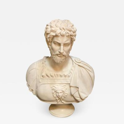 Italian Late 19th Century Bust of Emperor