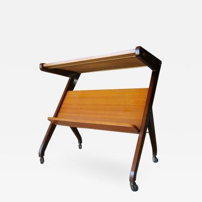 Italian Magazine Cart Table