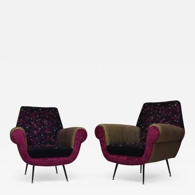 Italian Manufacturing for these Armchairs 1950s