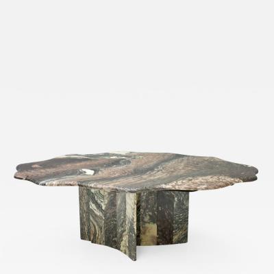 Italian Marble Coffee Table 1970s