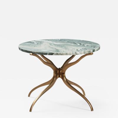 Italian Marble Side Table
