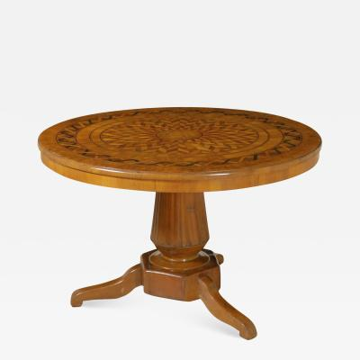 Italian Marquetry Center table Circa 1820