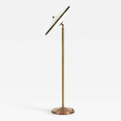 Italian Mid Century Adjustable Floor Lamp
