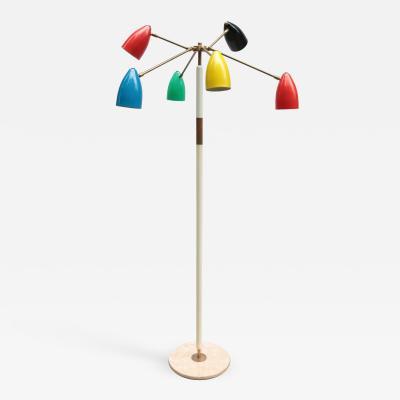 Italian Mid Century Modernist Floor Lamp