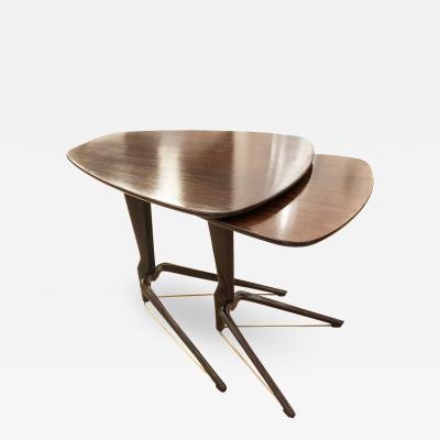 Italian Mid Century Nesting Tables