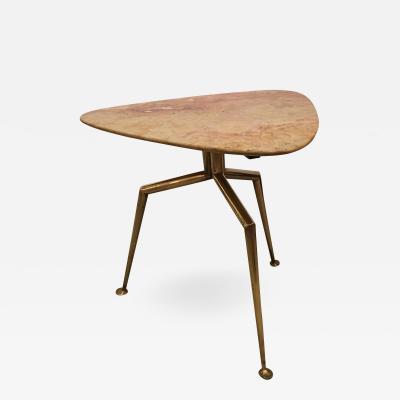 Italian Mid Century Onyx Table