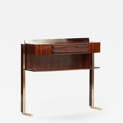 Italian Mid Century Rosewood Console
