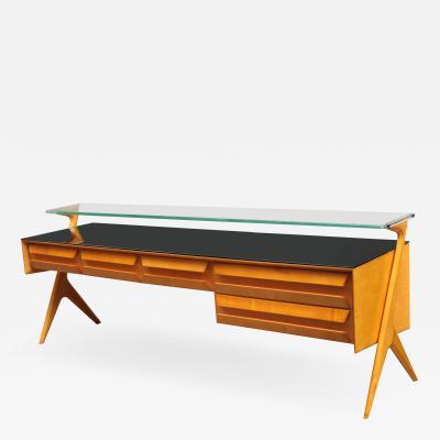 Italian Modernist Low Sideboard