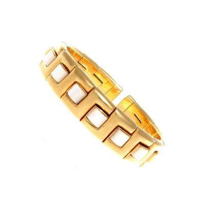 Italian Mother of Pearl Gold Bracelet