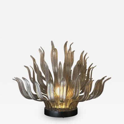 Italian Murano Glass Table or Floor Lamp 1980s