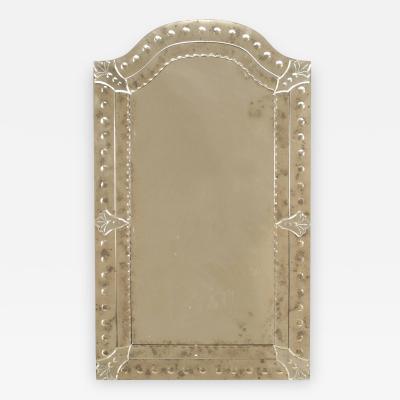 Italian Murano Rectangular Wall Mirror