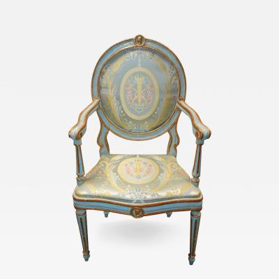 Italian Neo Classic Painted Chair