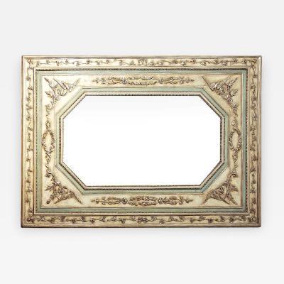 Italian Neo classic Painted Large Mirror