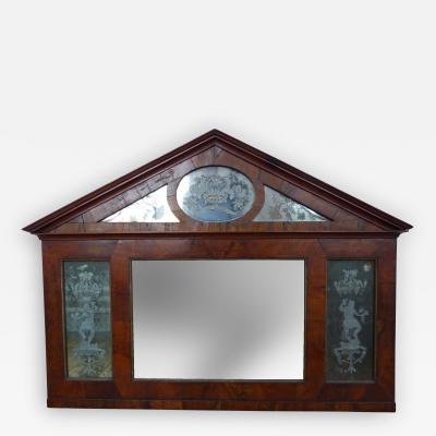 Italian Neoclassic Architectural Mirror