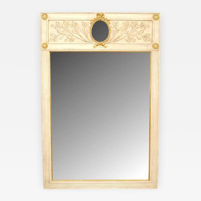 Italian Neoclassic Style Gilt Trimmed Wall Mirror
