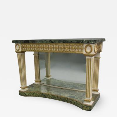 Italian Neoclassical Console Table