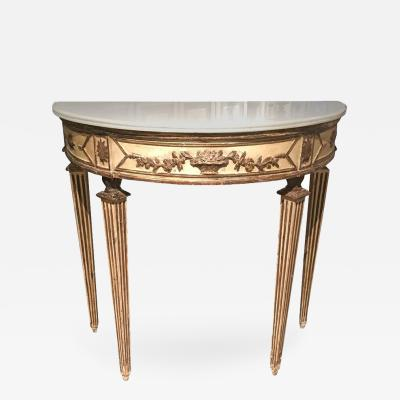 Italian Neoclassical Console Table Circa 1800
