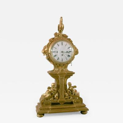 Italian Neoclassical Mantel Clock