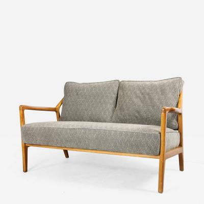 Italian Oak Spindle Back Settee