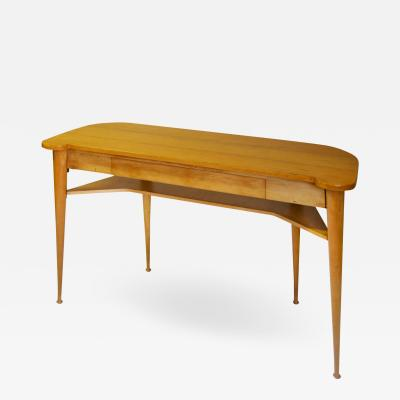 Italian School Italian Production Console Table in Wood with Drawer 1950s