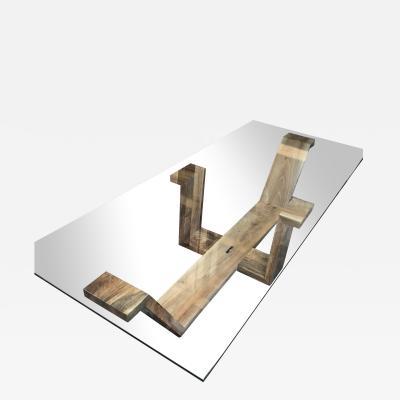 Italian Sculptural Coffee Table