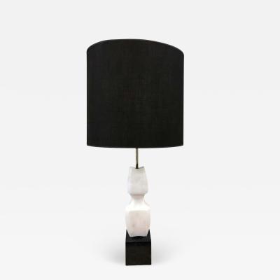 Italian Sculptural Marble Lamp