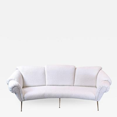 Italian Sofa Attributed To Giacomo Balla 1950s