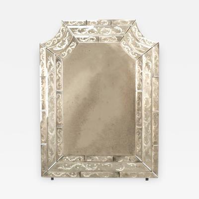 Italian Venetian Style Murano Mirror Wall