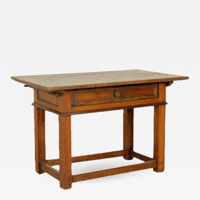 Italian Walnut Writing Table Circa 1700