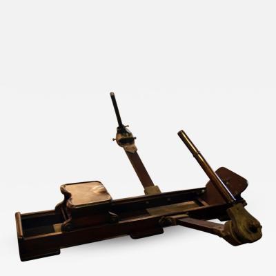 Italian Wood Rowing Machine
