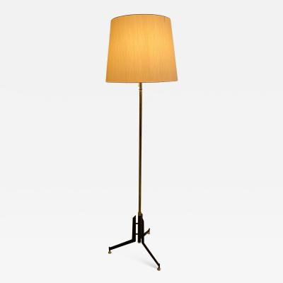 Italian floor Lamp With Silk Shade