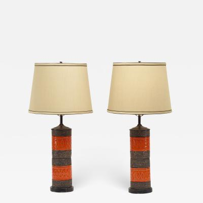 Italian table lamps pair